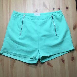 Everly Mint Shorts | Medium